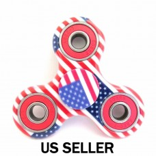 USA Flag Fidget Hand Spinner